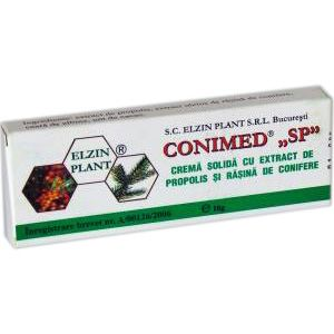 CREMA SOLIDA (SUPOZITOARE) - CONIMED SP, 10 buc x 1.5 g, Elzin Plant