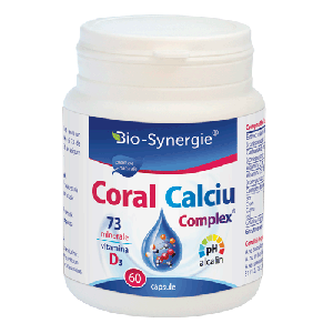 CALCIU CORAL COMPLEX 60 capsule, Bio Synergie