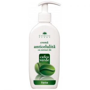 CREMA ANTICELULITA FORTE CU EXTRACT DE CAFEA VERDE, 250 ml, Cosmetic Plant