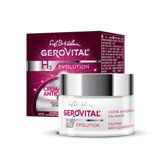 CREMA ANTICUPEROZICA CALMANTA - GEROVITAL H3 EVOLUTION 50 ml, Farmec