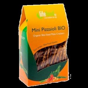 CRACKERS PIZZA RAW BIO 70 g, Lifefood