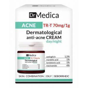 CREMA DERMATOLOGICA ANTIACNEICA DE ZI/NOAPTE - DR MEDICA 50 ml, Bielenda