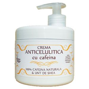 CREMA ANTICELULITICA CU CAFEINA 500 ml, Kosmo Oil
