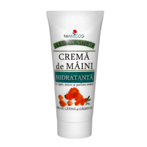 CREMA DE MAINI HIDRATANTA - VERRE DE NATURE 100 ml, Manicos
