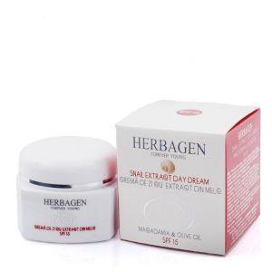 CREMA DE ZI CU EXTRACT DIN MELC SPF 15, 50 g, Herbagen