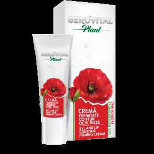 CREMA FERMITATE CONTUR OCHI SI BUZE 15 ml, Gerovital Plant