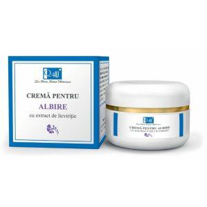 CREMA PENTRU ALBIRE SPF 10 - Q4U, 50 ml, Tis Farmaceutic