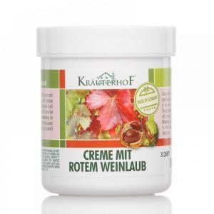 CREMA CU VITA-DE-VIE ROSIE SI CASTAN SALBATIC 250 ml, Kraterhof