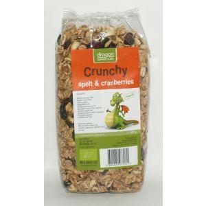 CRUNCHY CU SPELTA SI MERISOR BIO, 300 g, Dragon Superfoods