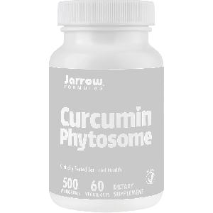 Curcumin Phytosome 500 mg, 60 capsule vegetale, Jarrow Formulas