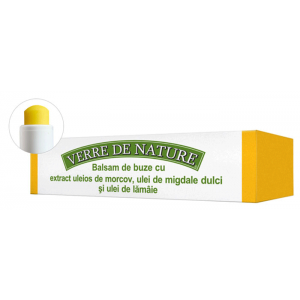 BALSAM DE BUZE CU EXTRACT DE MORCOVI - VERRE DE NATURE 4.8 g, Manicos
