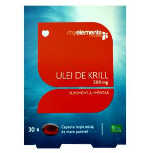 KRILL OMEGA 3 500 mg, 30 capsule, My Elements