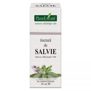 SALVIE - Salvia Officinalis, Tinctura 50 ml, Plant Extrakt