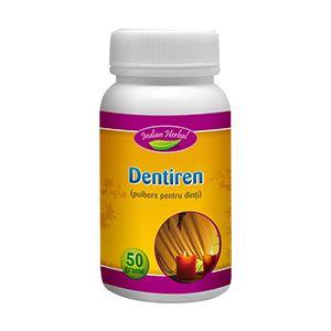 DENTIREN - PULBERE PENTRU DINTI 50 g, Indian Herbal