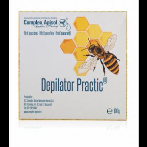 DEPILATOR PRACTIC - CEARA NATURALA 100 ml, Complex Apicol