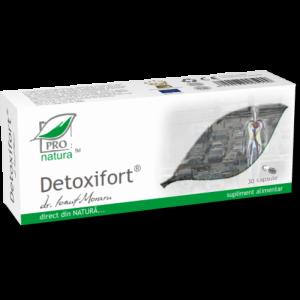 DETOXIFORT, 30/150 capsule, Laboratoarele Medica