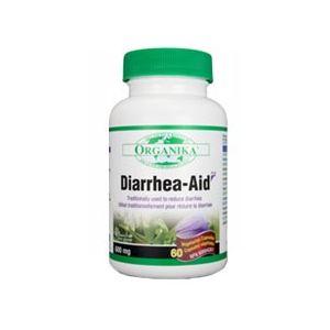 DIARRHEA AID 600 mg, 60 capsule, Organika
