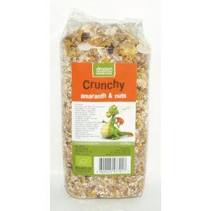 CRUNCHY CU AMARANTH SI NUCI BIO, 300 g, Dragon Superfoods