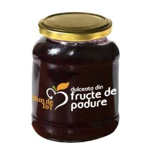 DULCEATA DE FRUCTE DE PADURE - BUN DE TOT, 360 g, Dacia Plant
