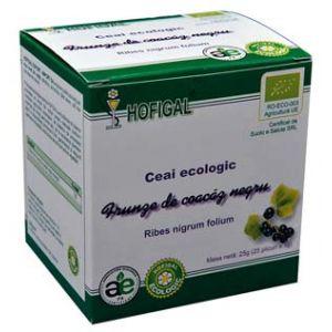 COACAZ NEGRU ECOLOGIC - CEAI, 25 plicuri x 1.0 g, Hofigal