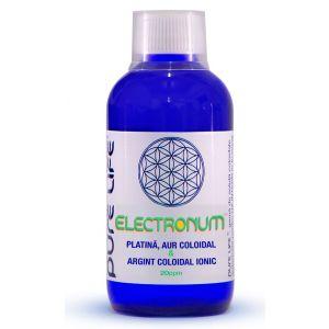 ELECTRONUM 20 PPM (Pt, Au, Ag) 240/480 ml, Pure Life