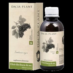 ELIXIR DIN FRUCTE DE SOC, Tinctura 200 ml, Dacia Plant