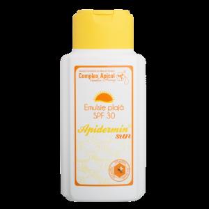 EMULSIE PENTRU PLAJA SPF 30 - APIDERMIN SUN 200 ml, Complex Apicol