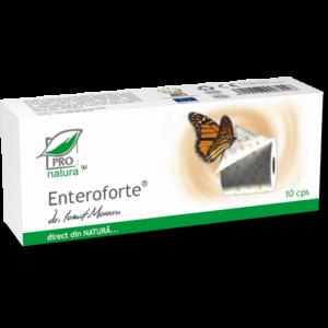 ENTEROFORTE, 10 capsule, Laboratoarele Medica