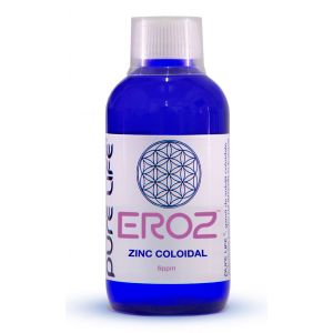 EROZ - ZINC COLOIDAL 240/480 ml, Pure Life