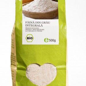 FAINA INTEGRALA DE GRAU BIO 500 g, Longevita