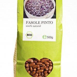 FASOLE PINTO BIO 500 g, Longevita