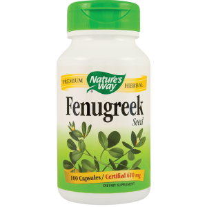 FENUGREEK (Schinduf) 610 mg, 100 capsule, Nature's Way