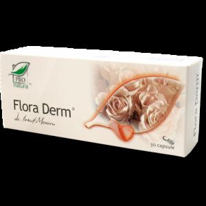 FLORA DERM, 30/150 capsule, Laboratoarele Medica