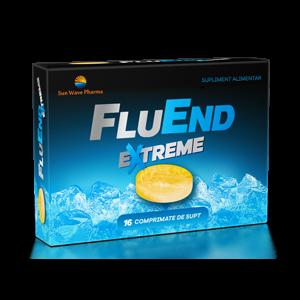 FLUEND EXTREME 16 comprimate de supt, Sun Wave Pharma