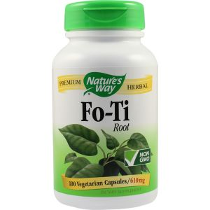 FO-TI ROOT 610 mg, 100 capsule, Nature's Way