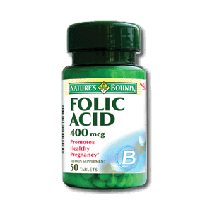 ACID FOLIC 400 mcg, 50 tablete, Nature's Bounty