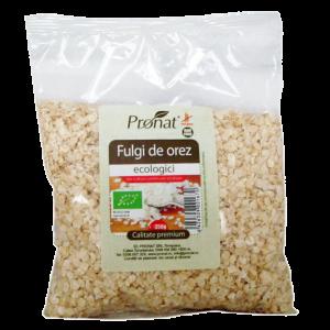FULGI DE OREZ FARA ZAHAR BIO 350 g, Pronat