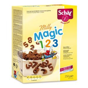 CEREALE CROCANTE PENTRU COPII FARA GLUTEN - MILLY MAGIC POPS 250 g, Dr. Schar
