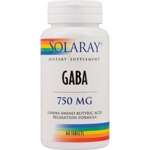 GABA 60 tablete, Solaray