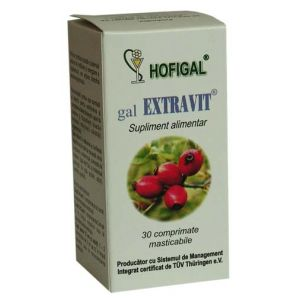 EXTRAVIT GAL 30 comprimate, Hofigal