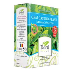 GASTRO PLANT (STOMAC SANATOS), Ceai 150 g, Dorel Plant
