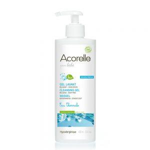 GEL CURATARE BEBE CU APA TERMALA BIO 400 ml, Acorelle