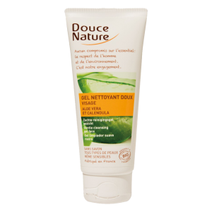GEL DE CURATARE FACIAL CU ALOE VERA SI GALBENELE 100 ml, Douce Nature