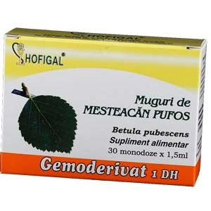 GEMODERIVAT DIN MUGURI DE MESTEACAN PUFOS, 30 monodoze, Hofigal