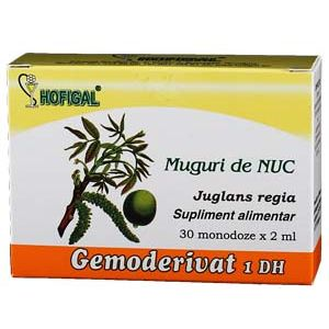 GEMODERIVAT DIN MUGURI DE NUC, 30 monodoze, Hofigal