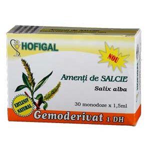 GEMODERIVAT DIN SCOARTA DE SALCIE, 30 monodoze, Hofigal