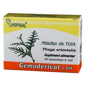 GEMODERIVAT DIN MLADITE DE TUIA, 30 monodoze, Hofigal