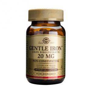 GENTLE IRON 20 mg, 90 capsule, Solgar