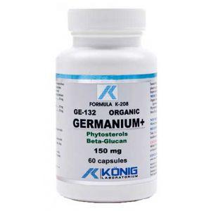 GERMANIU ORGANIC GE-132 - 150 mg, 60 capsule, Konig Laboratorium