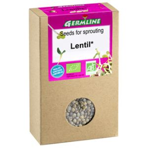 LINTE VERDE PENTRU GERMINAT BIO, 150 g, Germline